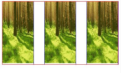 css图片两端对齐 图片底部有透明的空白